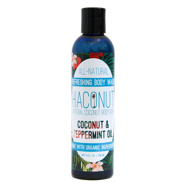 Refreshing Coconut + Peppermint Body Wash - Haconut