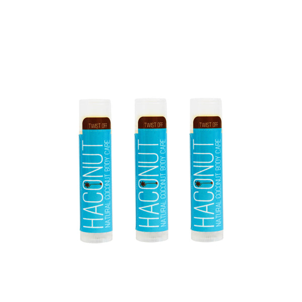 USDA Certified Organic Coconut Lip Balm - Haconut