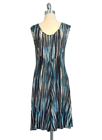 Desmond Dress - Blue Streak
