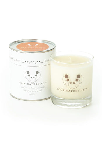 Love Nature Sweet Mandarin and Sandalwood Candle