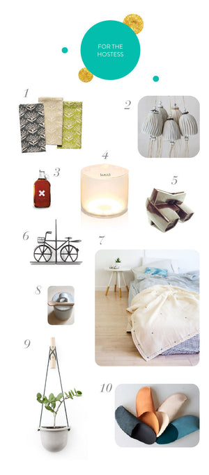 Top 10 Consciously Made Gifts : Part 2 for the Hostess & Your Beau