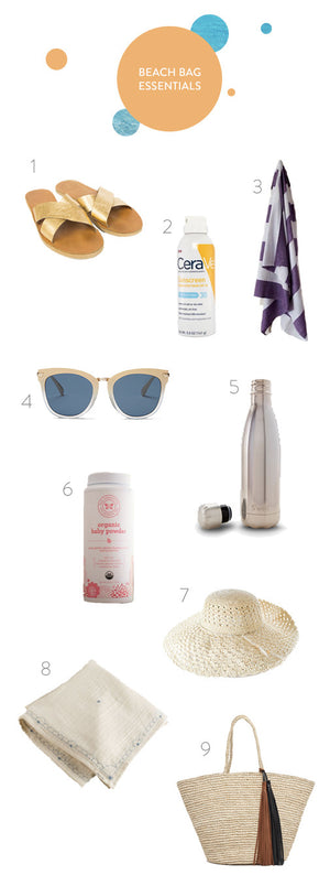 9 Essential and Ethical Beach Bag Items
