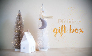 FREE Miniature House Gift Box Download