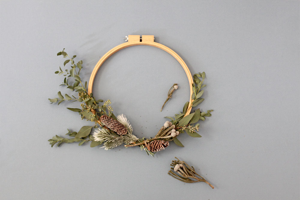 Wreath DIY simple elegant