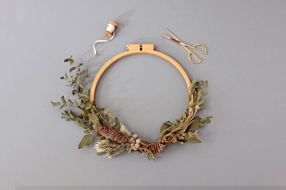 Simple DIY wreath