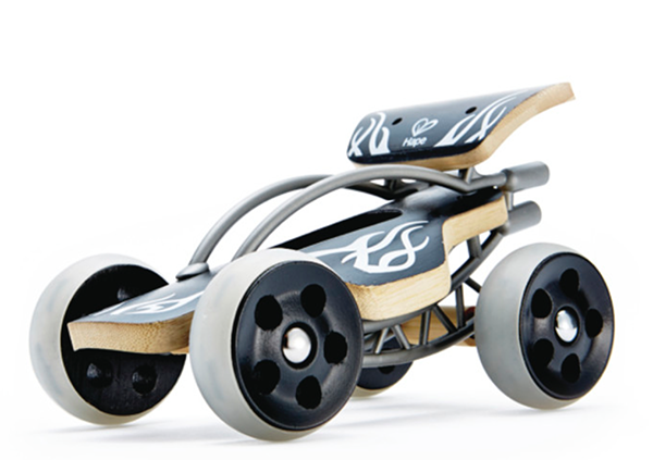Bamboo Race Car