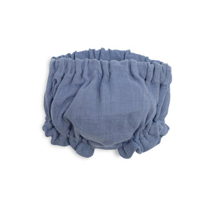 Ruffled Bloomer - Stonewash Blue