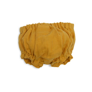 Ruffled Bloomer - Golden Mustard