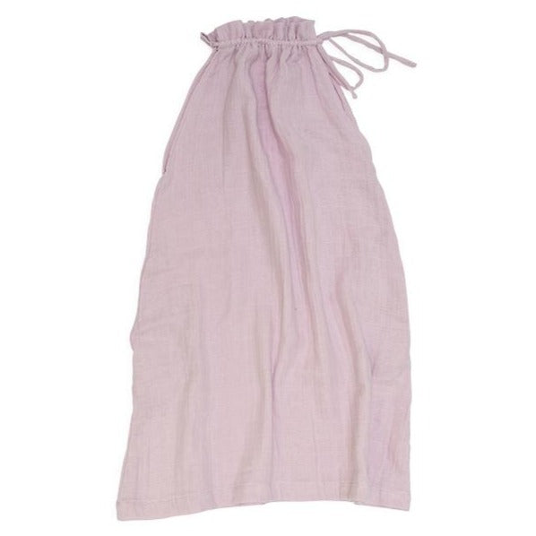 Ruffle Neck Sundress - Pink Lilac