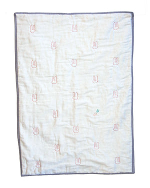 Silly Rabbit Organic Baby Blanket