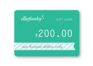 Ellie Fun Day Gift Card
