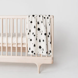 EllieFunDay & Rylee + Cru Forest Print Swaddle