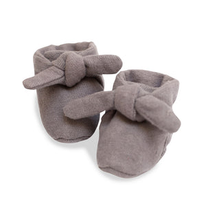 Gray Flannel Knotted Bootie