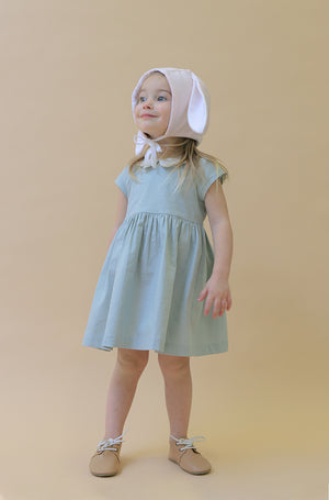 Peter Pan BUTTERFLY Collar Dress | Celadon