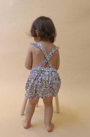 Baby Bubble Romper | Dragonfly Floral