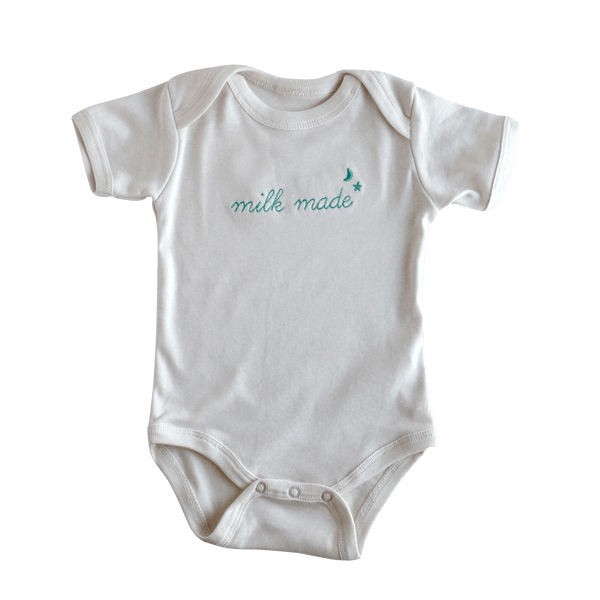 Embroidered Milk Made Bodysuit