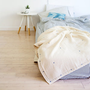 Mille Feuille Organic Throw Blanket