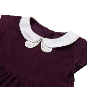 Peter Pan Collar Dress | Mulberry Corduroy