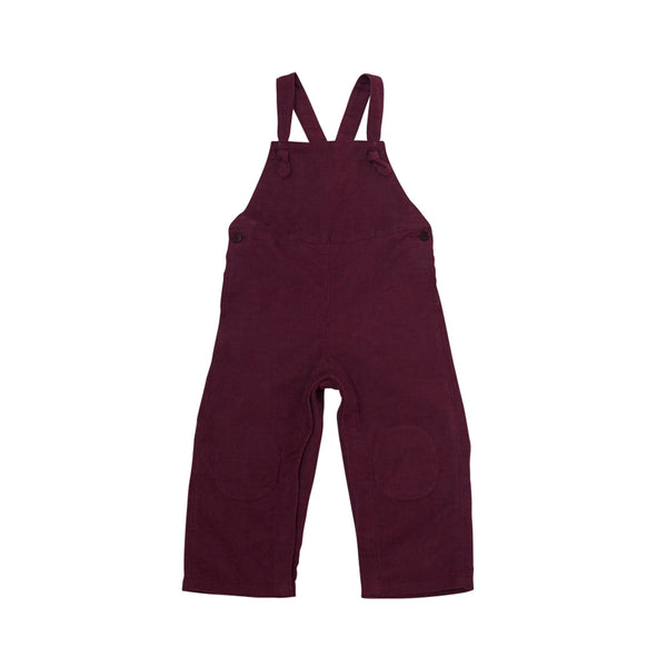 Toddler Knotted Overalls | Mulberry Corduroy
