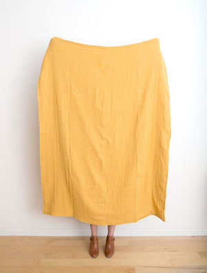Pigment Throw - Golden Mustard