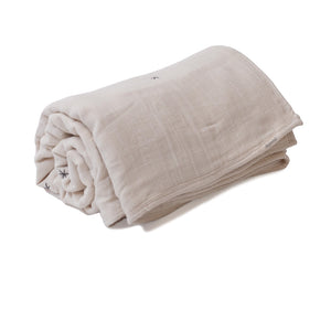 Mille Feuille Throw Blanket - Natural