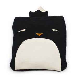 Ernest the Penguin Nomad Travel Blanket