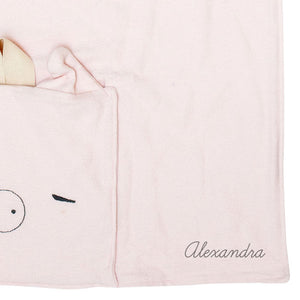 Mae the Pig Nomad Travel Blanket