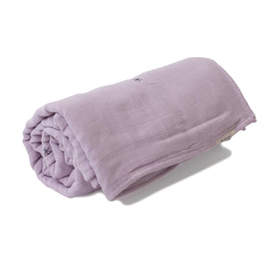 Mille Feuille Throw Blanket - Pink Lilac