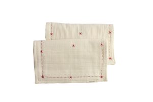 Organic Lovie Burp Cloth (set of 2)