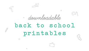 FREE Downloadable First Day of School Printable