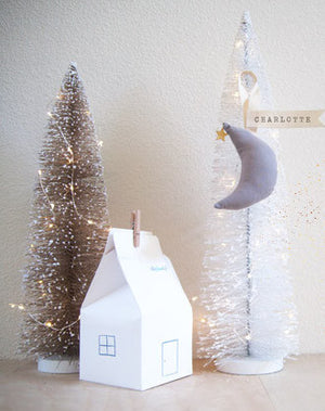 Free Downloadable Miniature House Gift Box