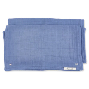 Pigment Lovie Burp Cloth Stonewash