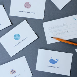 Free Downloadable Encouragement Lunch Cards