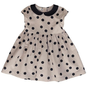 Peter Pan Collar Dress | Polka Dot