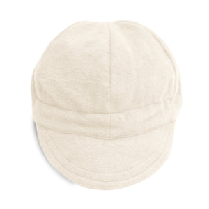 Snow Flannel Newsboy Cap