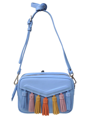 Colorful Tassel Crossbody
