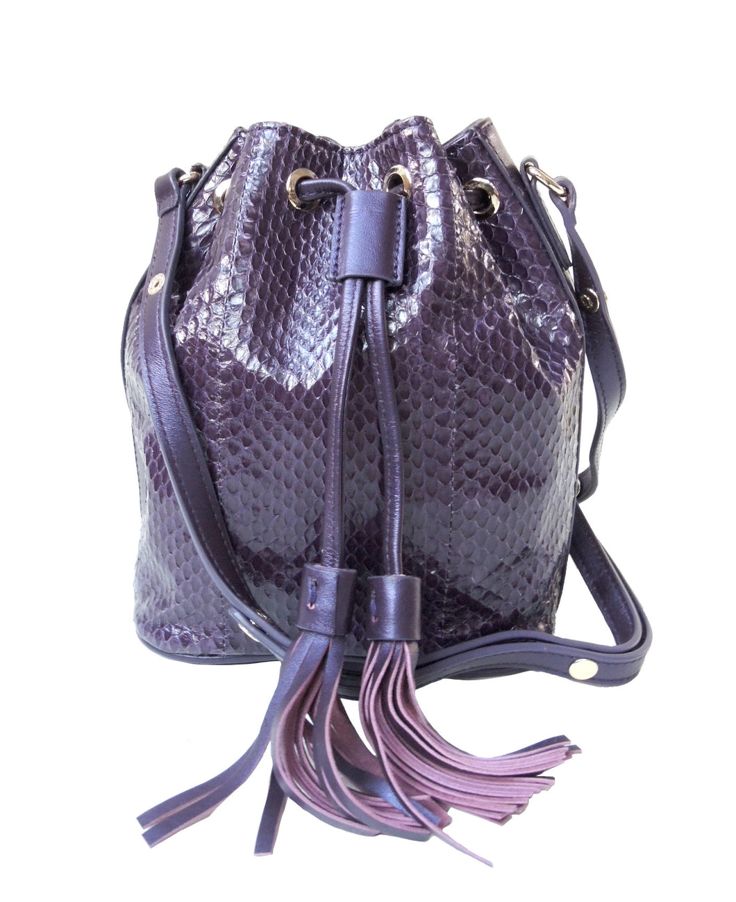 Water Snake Mini Drawstring Crossbody