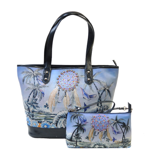 Handpainting Shopper Tote