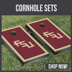 Seminoles Cornhole boards