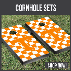 Tennessee Vols cornhole boards