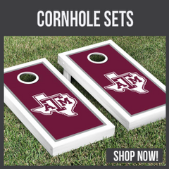 Texas A&M Aggies cornhole sets
