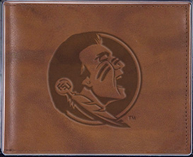 Florida State Seminoles Official NCAA Leather Trifold Wallet