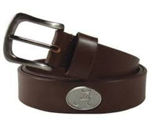 Alabama Crimson Tide Brown Casual Belt