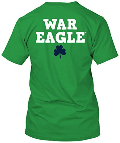 Picture of Auburn Tigers St. Patrick's Day Green T-shirt