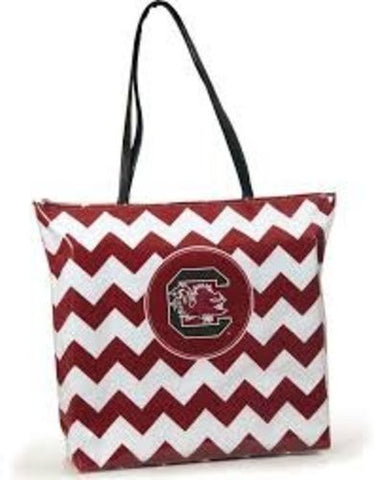 Picture of South Carolina Gamecocks Chevron Tote Bag