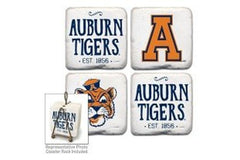 Auburn Tigers Coasters Set of 4