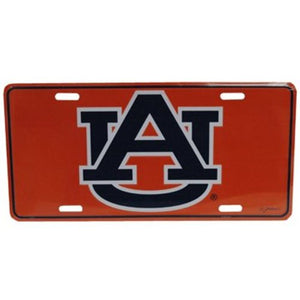 Auburn Tigers Logo License Plate