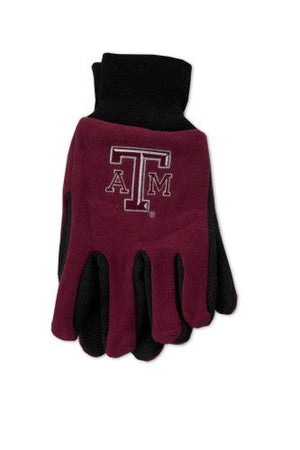 Texas A&M  Aggies Two-Tone Gloves