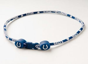 Indianapolis Colts Titanium Core Sport Necklace - 18 Inch