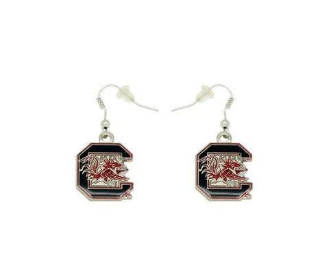 Picture of South Carolina Gamecocks Logo Dangler Earrings